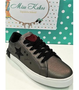 SNEAKERS REBEL HEART CORAZON