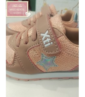 SNEAKERS XTI STAR METALIZADA